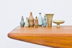 Collection of miniature vases by Gunnar Nylund via modernisten. Click on the image to see more!