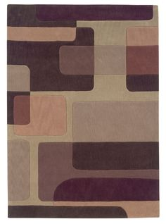 Camden Hand Tufted Brown/Tan Area Rug