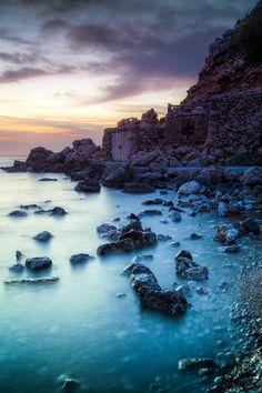 Sunset Cala Moli Ibiza