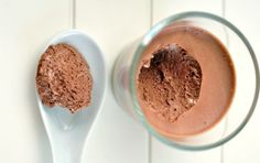 Chocolate & Peanut Butter Protein Ice Cream