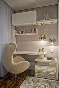 Comment décorer et agencer le bureau laqué blanc - astuces en photos et plusieurs belles idées pour faire votre petit office top!