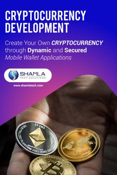 Shamla Tech, a dedicated cryptocurrency development company offers cutting-edge cryptocurrency coin development services to a wide range of clients all across the Globe. Best Cryptocurrency, Create Your Own, Globe, Software, Range, Tech, Wallet, Technology, Pocket Wallet