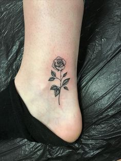 Small Rose Tattoo Tats Galore Tattoos Rose Tattoos Shoulder Tattoo inside sizing 3024 X 4032 Small Flower Tattoos On Ankle - Have you been thinking about Little Rose Tattoos, Small Flower Tattoos, Small Tattoos, Flower Ankle Tattoos, Red Rose Tattoos, Ankle Tattoos For Women Anklet, Tiny Tattoo, Pretty Tattoos, Beautiful Tattoos