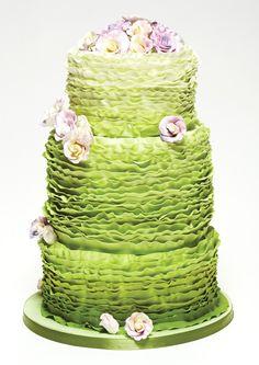 2013 Wedding Cake Trends