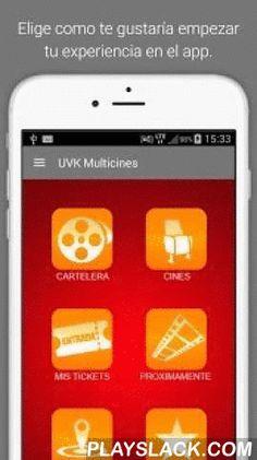 UVK Multicines  Android App - playslack.com , Revisa la programación de todos los cines de UVK y compra tu entrada con este app. Te encontrará el cine más cercano y no tendrás que hacer colas en boletería. Acumula puntos con tu UVKard luego de realizar tu compra.
