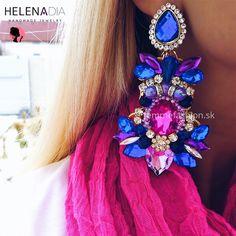 NOVINKA !!!!HELENADIA.kúpite na našom eshope. Unikátne, jedinečné, exkluzívne ručne vyrábane šperky HelenaDia Náušnice HelenaDia Harper  http://femmefashion.sk/helenadia/2899-nausnice-helenadia-harper.html
