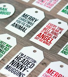 The best way to spread Christmas cheer is sharing movie quotes for all to hear. We've rounded up 15 adorable free holiday printables to make gift-giving a little easier.