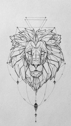 Tattoo lionne signification du signe lion cool idée tatouage animal noble Tattoo lioness meaning of the lion sign cool idea tattoo animal noble Kunst Tattoos, Tattoo Drawings, Body Art Tattoos, New Tattoos, Mini Tattoos, Tattoo Sketches, Tattoos Skull, Family Tattoos, Wolf Tattoos