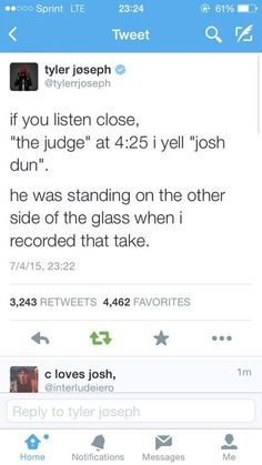 i always sing it when i listen to the judge