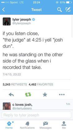 i always sing it when i listen to the judge