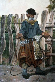 florencio molina campos montefusco - Buscar con Google Rio Grande Do Sul, Horse Mane Braids, Argentina Culture, Tennessee Walking Horse, Clydesdale Horses, Decoupage Vintage, Geronimo, Cowboy And Cowgirl, Western Art