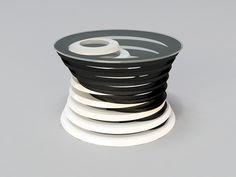 Reverse 2 - coffee table concept. by Svilen Gamolov, via Behance