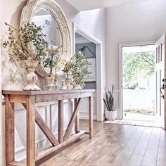 39 Awesome French Home Decoration Ideen Haus Dekoration Foyer Decorating, Decorating Games, Interior Decorating, Style At Home, Home And Living, Cottage Living, Modern Living, Sweet Home, New Homes