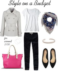 """""""Spring Look"""" by bluehydrangea on Polyvore"""