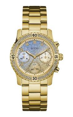 92595LPGSDA2 Relógio Feminino Dourado Guess | Guest Club