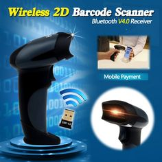 Free Shipping! EY-002 2D Wireless Barcode Scanner Bluetooth 2D Barcode Scanner QR Code Reader PDF417 Scanner Android IOS Mobile – Shop Now! – WorldOfTablet.com
