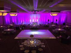 Percy Sales Events: Final outcome for Amethyst and Ice Wedding  Mirrored Tables, Ghost Chair Rentals and Lounge Furniture: LM Productions Lighting/Dancefloor: Hugo Zamora Linens and Throw Pillows: Luxe Linens Videography: Treehouse Story Photogrpahy: Chestknots DJ: DJ David Fletes Cake/French Macaroon Favors : Delicious Artistry Flowers: Emma Rose Florals
