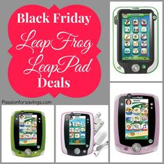 If you have a  Leap Pad on your shopping list, be sure to Check out the Black Friday Leap Frog Leap Pad Deals.