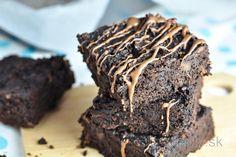 Bezlepkové fit brownies s orechovým maslom