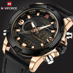 Watches Men NAVIFORCE Brand Men Sport Watches Men's Quartz Clock Man Casual Mili  | eBay…
