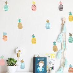 Stickers enfant ananas