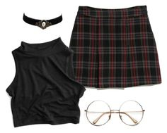 grunge tumblr blogger by stinkhead on Polyvore featuring polyvore, fashion, style, MANGO, Retrò and clothing