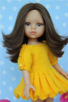Бабочки в животе? ДА! Игровые куклы Paola Reina. Кэрол 32 см / Paola Reina, Antonio Juan и другие испанские куклы / Бэйбики. Куклы фото. Одежда для кукол