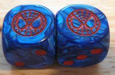 Custom Dice Spider Man