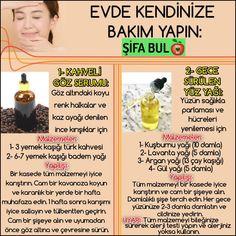 EVDE KENDİNİZE BAKIM YAPIN: #şifabul 1- KAHVELİ GÖZ SERUMU: Göz altındaki koyu renk halkalar ve kaz ayağı denilen ince kırışıklar için Malzemeler: 1- 3 yemek kaşığı türk kahvesi 2- 6-7 yemek kaşığı... Fall Eyeshadow Looks, Blue Eyeshadow Looks, Healthy Beauty, Health And Beauty, Diy Beauty, Beauty Hacks, Massage Marketing, Weight Loss Eating Plan, Need To Lose Weight