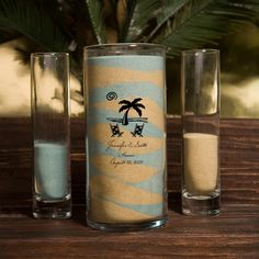Personalized Sand Unity Vase Set.  Ooh I like these.  I am getting a set for my sand ceremony.