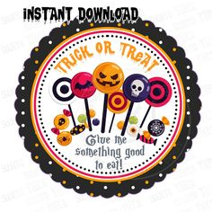Halloween Tags, Halloween Trick Or Treat, Halloween Themes, Happy Halloween, Printable Tags, Printables, Diy Stickers, Sticker Paper, Custom Items