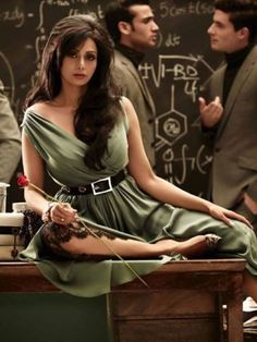 Sridevi: You couldn't have missed this one. Sridevi's comeback was the most talked about in 2012, and with that, this photo shoot which she did for a magazine a few months ago. Do you like Sridevi's sexy school teacher look?Photo shoot for Vogue