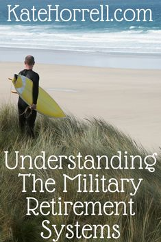 The Basics of Retirement Plans and the Military's Old and New Plans - KateHorrell Military Retirement Pay, Military Pay, Military Spouse, Military Benefits, Military Girlfriend, Military Discounts, Retirement Planning, How To Find Out, Finance