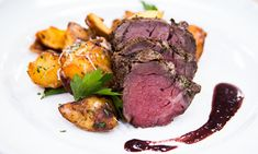 Home & Family - Recipes - Cristina Cooks – Beef Tenderloin With Parmesan Garlic Roasted Potatoes | Hallmark Channel