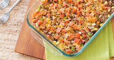 Healthy Taco Casserole and Skillet Taco Meatballs Recipes