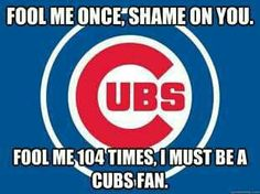Silly cubs fans