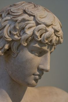 Greek Statue by Andrew Griffith on Flickr.Via Flickr:  The head on a statue in the National Archaeological Museum in Athens, Greece.