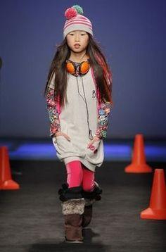 Bóboli presentó su colección otoño-invierno 2013/14 en la 080 Barcelona Fashion