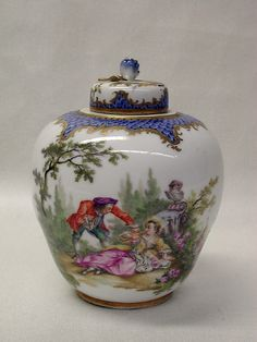 Meissen Manufactory | Tea caddy | German, Meissen | The Met