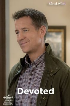 "No one is as devoted to Cassie (Catherine Bell) as Sam (James Denton) is! Make a date with ""Good Witch"" every Sunday night on Hallmark Channel. The Good Witch Series, Witch Tv Series, Brandon Russell, James Denton, Netflix Uk, Bailee Madison, Catherine Bell, Tv Show Casting, Desperate Housewives"