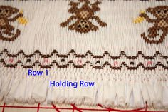 Creations By Michie` Blog: The Secret To Straight Smocking Pleats
