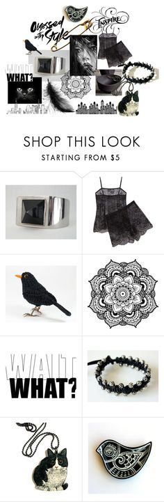 Untitled #274 by bizarrejewelry on Polyvore featuring Cosabella