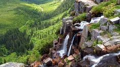 Krkonoše - Pančava Waterfall (czech republic)