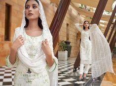 KAAYNAAT-CINDERELLA-PAKISTANI-SUITS-MANUFACTURER-SURAT-1 Latest Pakistani Suits, Cosmos, Cinderella, Flower Girl Dresses, Luxury, Wedding Dresses, Fashion, Bride Dresses, Moda