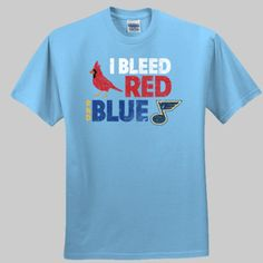 I Bleed Red and Blue! Even though I moved from STL years ago, it's still my home. #stl #cardinals #NerdMentor