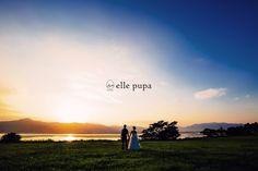 キレイな夕日と*琵琶湖ロケ |*ウェディングフォト elle pupa blog*|Ameba (アメーバ)