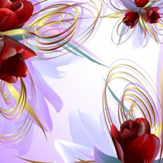 vector rose 02 vector