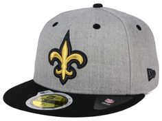 586449efd43 New Orleans Saints NFL Total Reflective 59FIFTY Cap. New Orleans Saints  FootballHat ...
