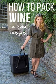 Are you a wine traveler? Here is the ultimate bag wine check bag for packing those must-have bottles of wine in your luggage. http://cleverdeverwherever.com/