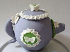 Tea pot cake by Connie Derks by WEEZER76